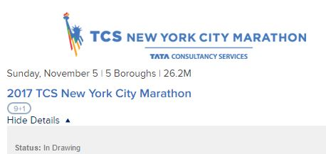 Start spreading the news… the New York marathon lottery is open